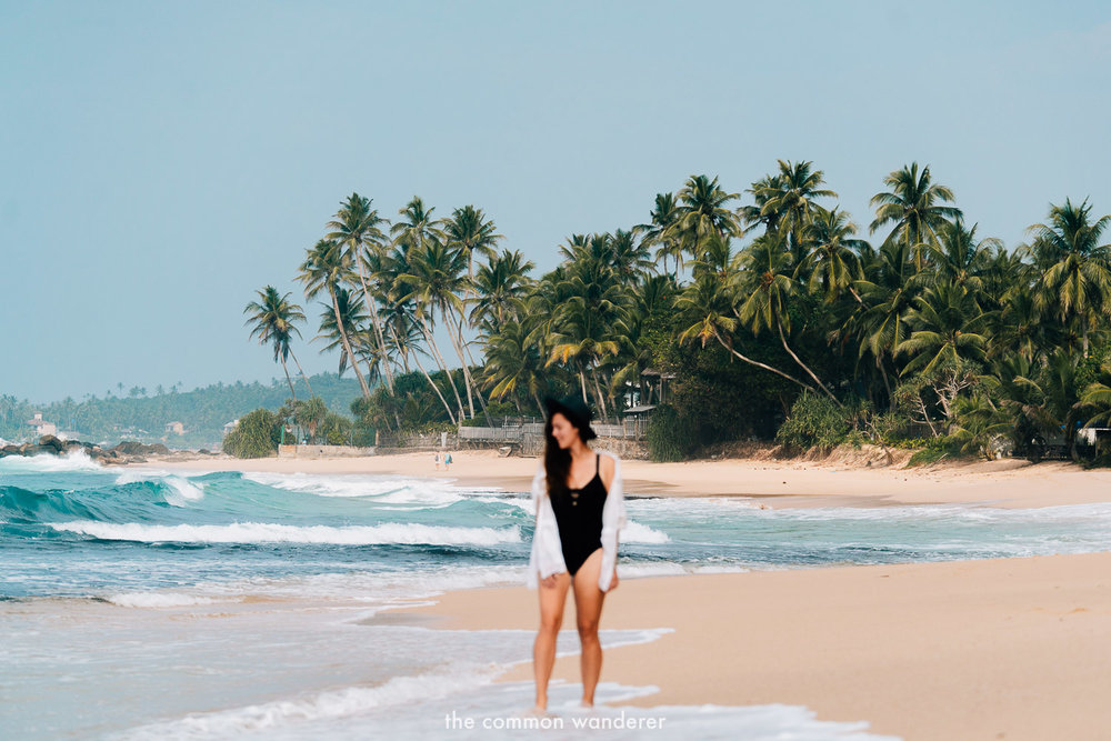 Sri Lanka highlights - the white sands and epic surf breaks on the southern coast