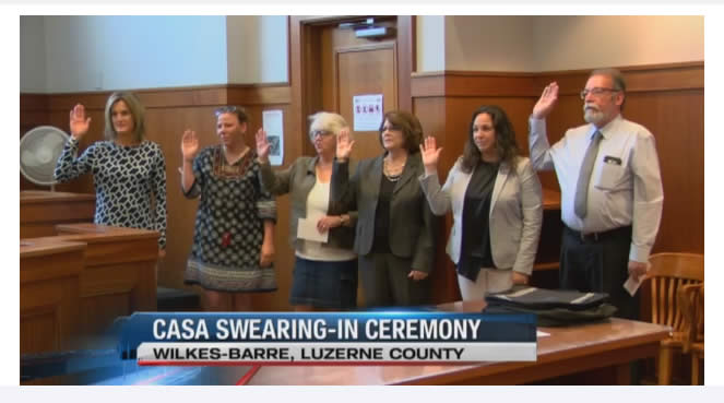 CASA Volunteers Take the Oath to be the Voice of a Child — CASA