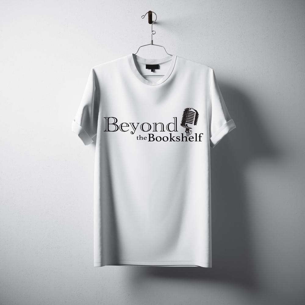 Beyond The Bookshelf Signature Logo Tee White
