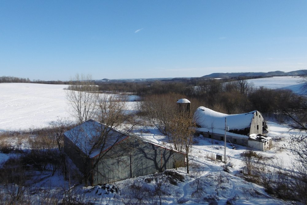 Hexagon Projects & Farm in winter