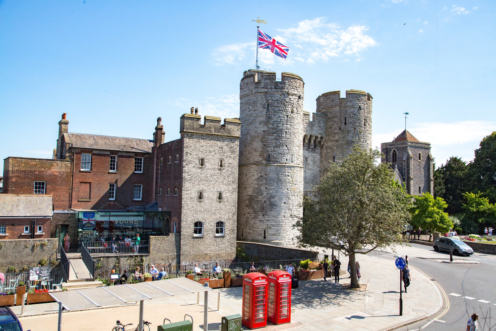 Canterbury's Westgate Towers