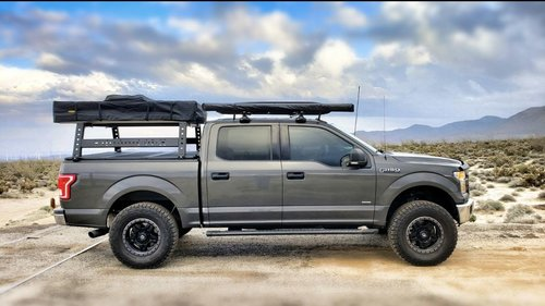 Bed Rack Tacoma >> Max Modular Steel Max 18 High Bed Rack Fits All Trucks Max