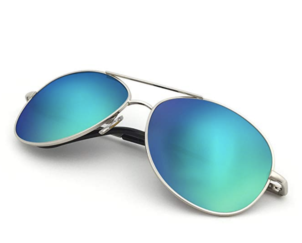 Sunglasses - Staring, oogling, openly gawking is taboo at nude beaches but sometimes your eyes just... wander. A cute pair of aviator sunglasses will ensure you don't get busted if your eyes stray. But be respectful, y'all!