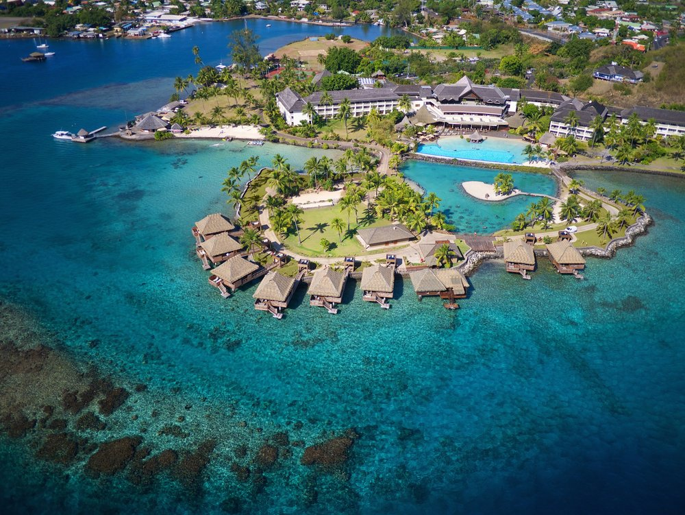 InterContinental Tahiti - The InterContinental Tahiti is the ideal place to overnight or get a day room during your trip.