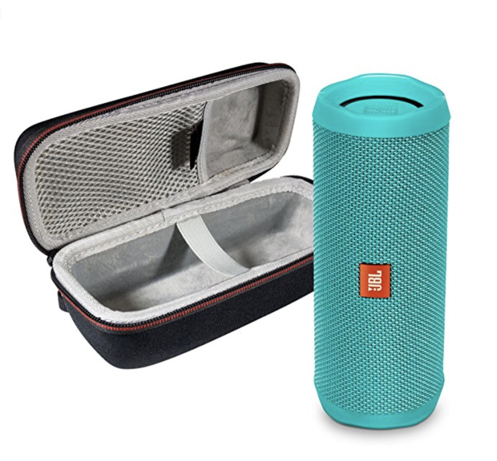 Portable Speaker - JBL's Flip 4 portable speaker is a wireless bluetooth speaker that will allow you to play your tunes with ease while you lounge on the deck of your overwater bungalow. Just be mindful of folks in neighboring bungalows and don't max out the volume!