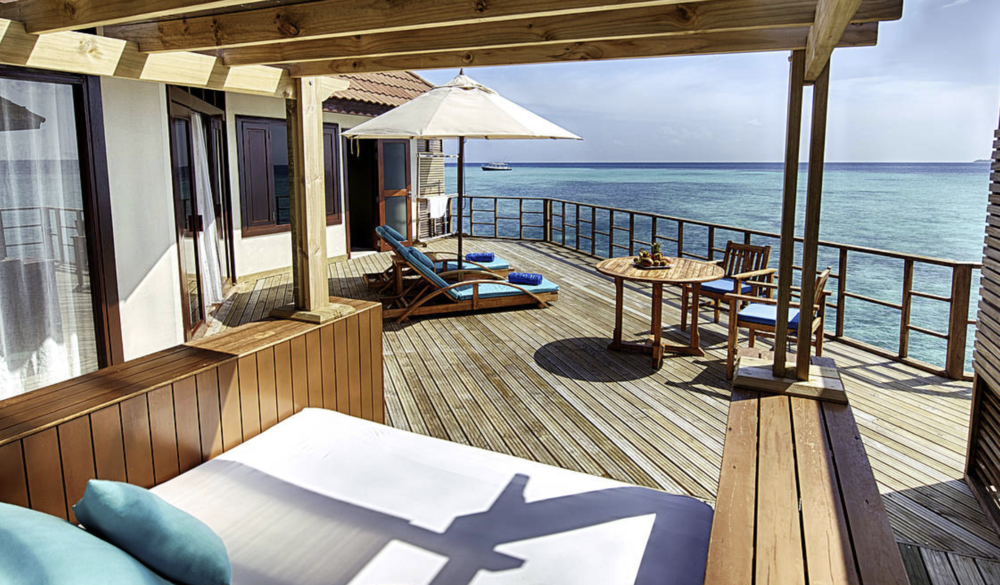 Courtesy the Robinson Club, Maldives