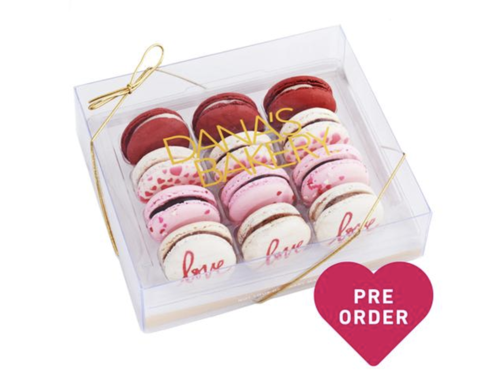 Dana's Bakery - These limited edition macaroons are not only delicious, but they are also available for pre-order to ship nationwide for Valentine's Day.
