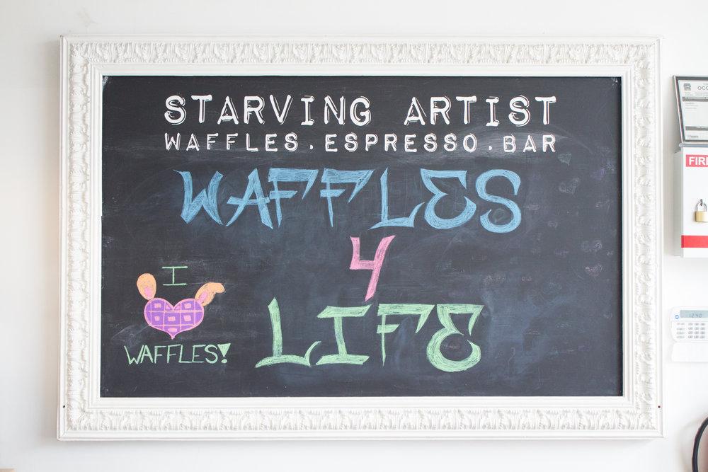 Starving Artist Sign