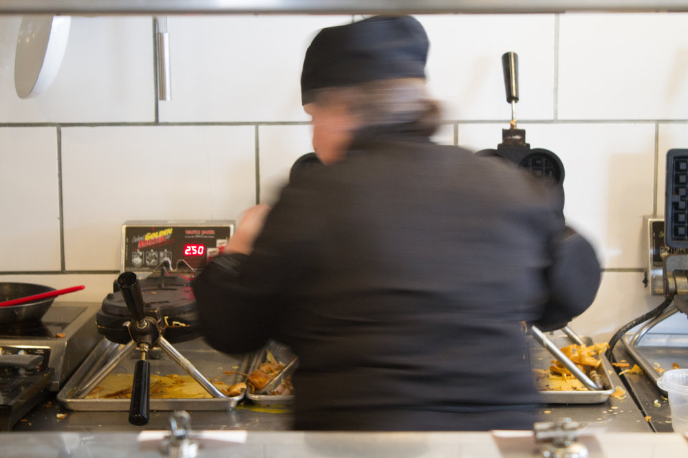 Starving Artist - Making Waffles