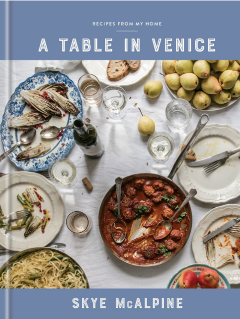 a table in venice by Skye McAlpine book cover