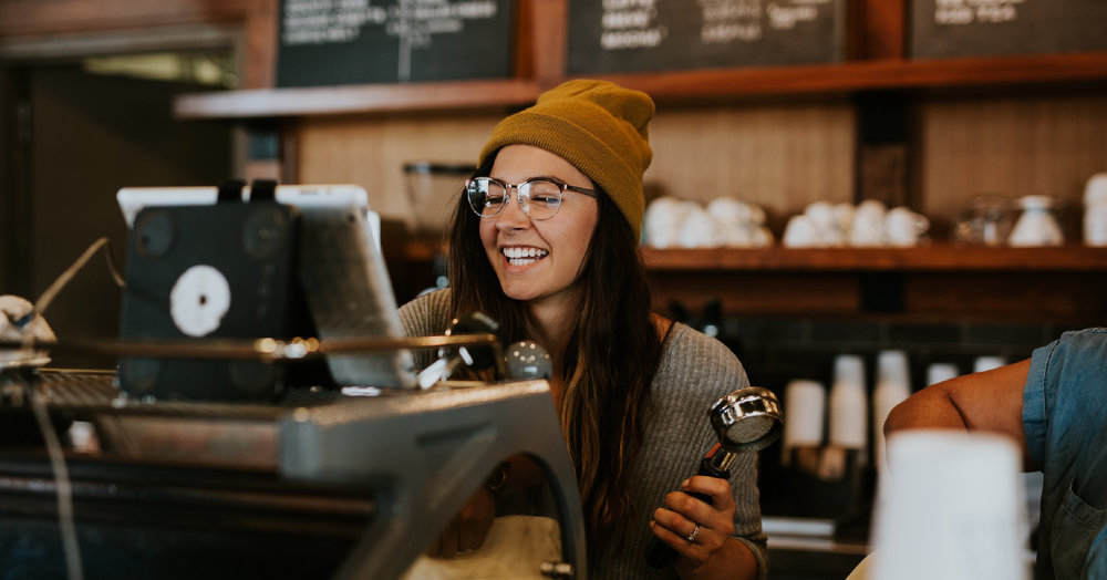 A coffee expert