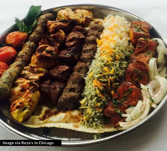 Stock food image from Reza's in Chicago ( Source )