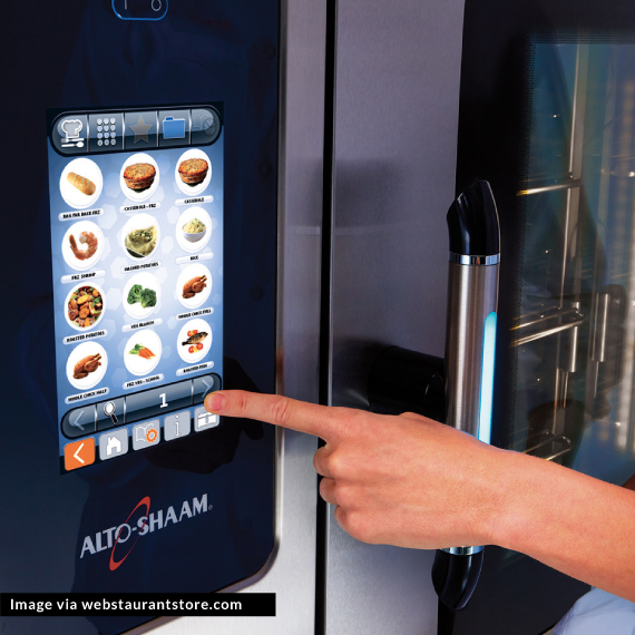 Stock image of a high-tech appliance in the kitchen (   Source   )