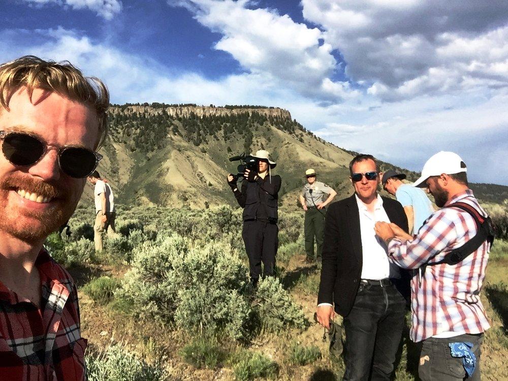 VICE filming #2, Montana 2017