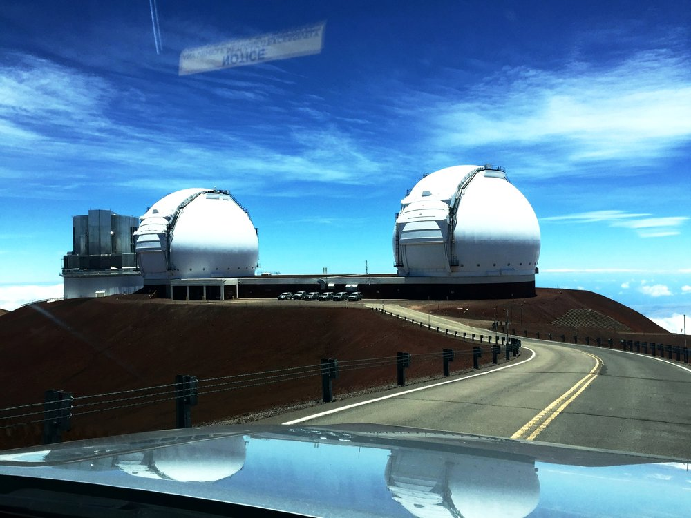 Keck Observatories, Mauna Kea, Hawaii