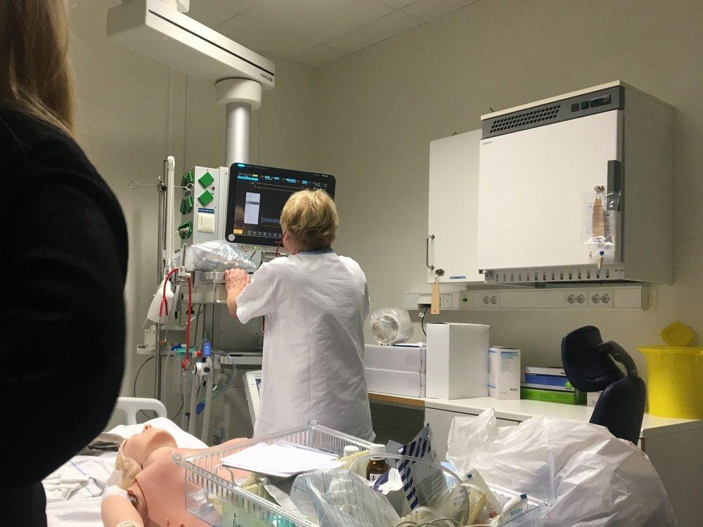 Problem Validation  with an experienced ICU nurse at the Umeå General Hospital, Umeå, Sweden