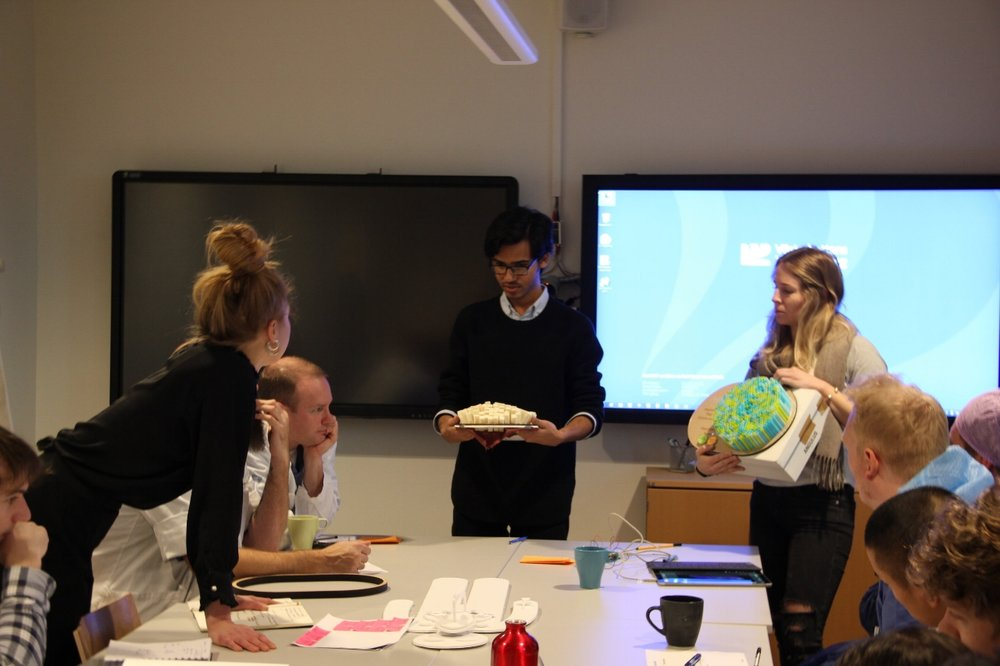 Getting feedback from professional users at Norrlands universitetssjukhus