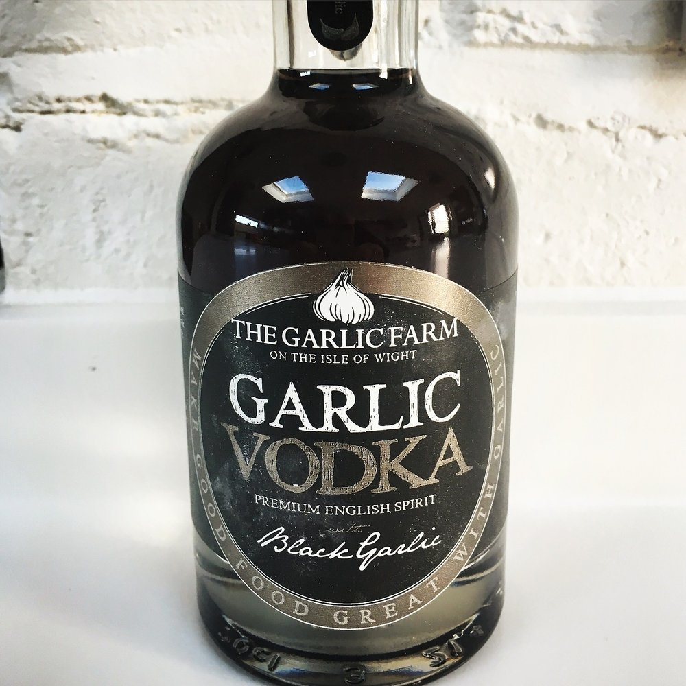 Tasting notes - Sweet roast garlic on the nose and a caramel finish in the mouth. I can't wait to make a Bloody Mary with this vodka.