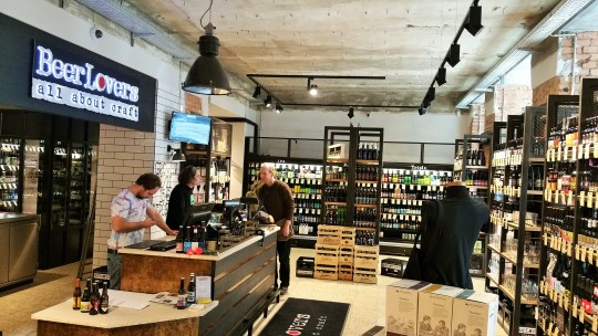 - Beer Lovers is a temple to craft beer in Vienna. You can find the store at Gumpendorferstrasse 35.
