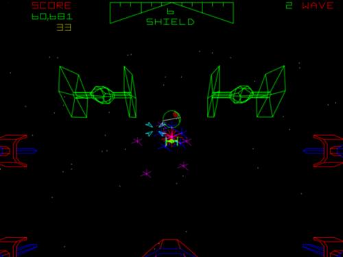 Atari's Star Wars arcade game