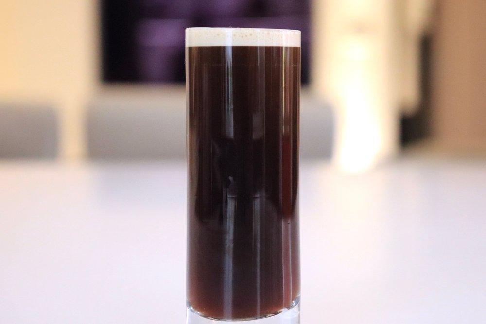 Nitro coffee shot