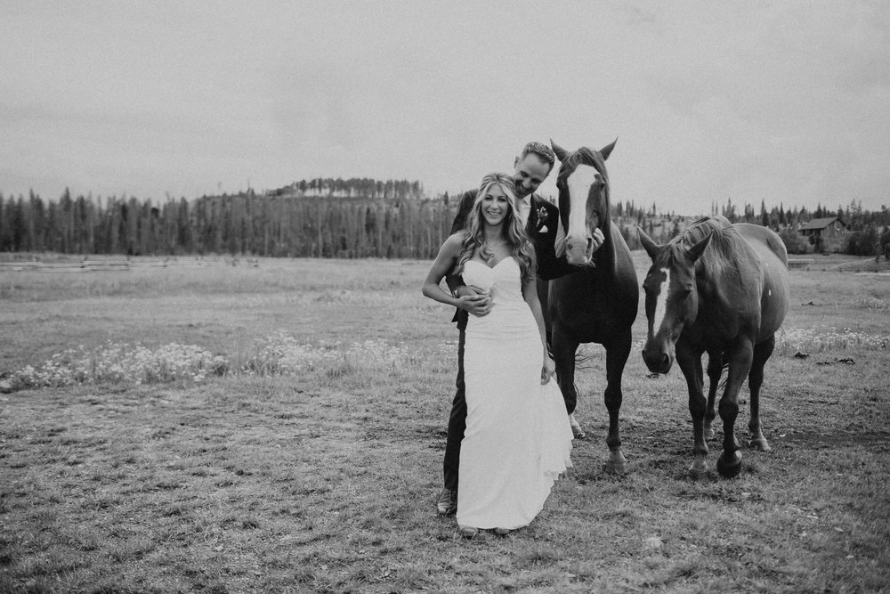 lauren & clem - Devils Thumb Ranch, Tabernash, Colorado