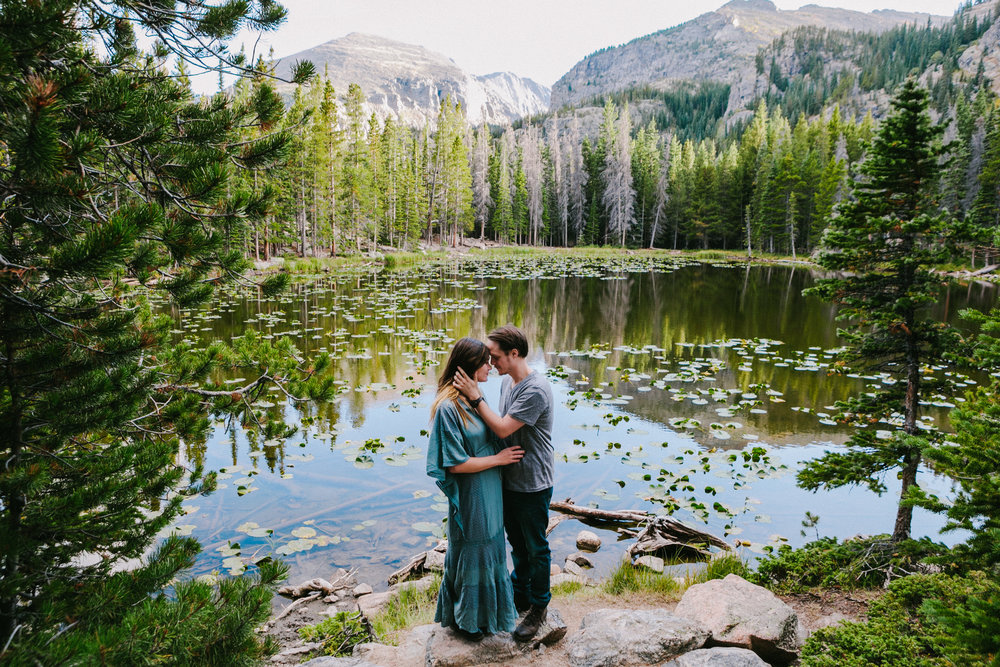 holly & dylan engaged - Rocky Mountain National Park, Colorado