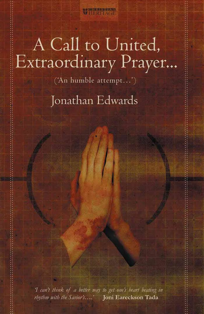 A Call to United, Extraordinary Prayer: An Humble Attempt...by Jonathan Edwards.  This is the book that inspired the ENOUGH prayer model. It was last published by Christian Focus Publications, 2003 .