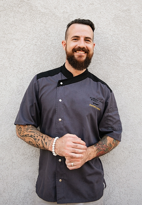 Damian Leach   Chef / Co-owner – Cocktail Kitchen