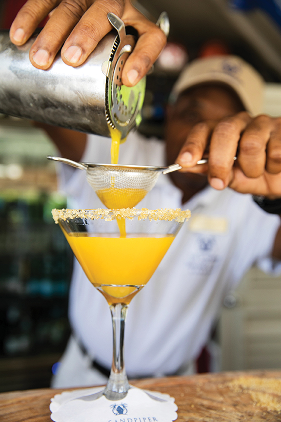 The Golden Jubilee Cocktail Recipe - The Sandpiper Barbados