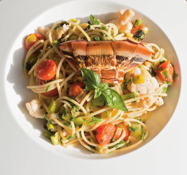 Daphne's Barbados Lobster Pasta
