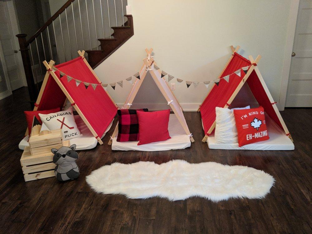 CTV Morning Live / Gleetribe/ indoor Camping