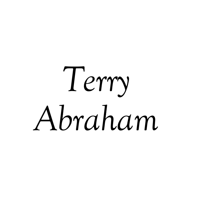 Terry Abraham (1944–2018)