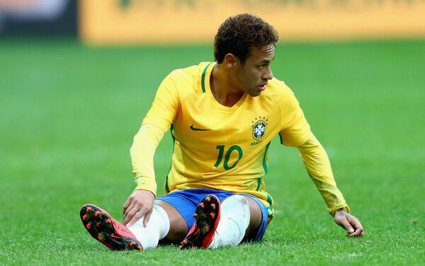 Neymar plays for Brazil ahead of Russia World Cup 2018