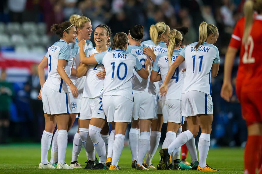 Jodie Taylor and England Women's National Team