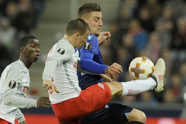 Immobile and Lazio lose to Salzburg in the Europa League