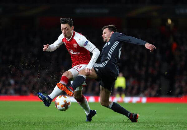 English Premier League and Arsenal midfielder Mesut Ozil gets ready for 2018 World Cup in Russia