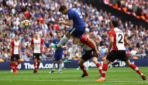 Chelsea FC striker Alvaro Morata seals victory against Southampton in FA Cup