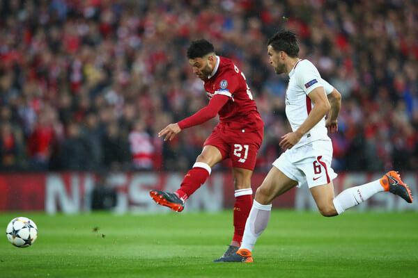 Alex Oxlade-Chamberlain injured for Liverpool FC in UEFA Champions League Semi-Final
