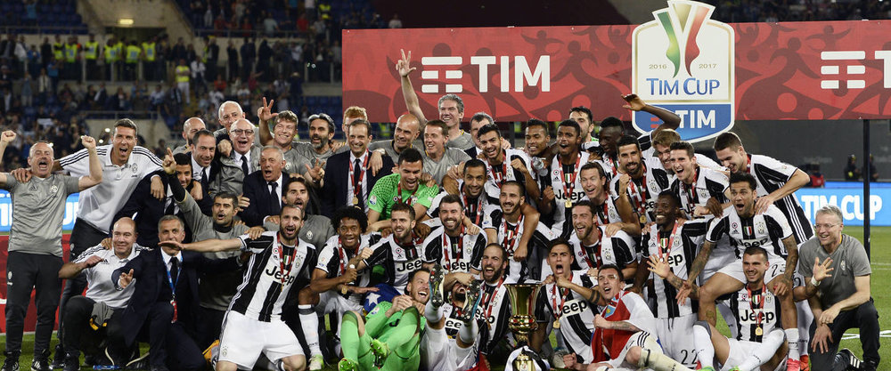 Juventus FC are victorious over AC Milan in Coppa Italia Final