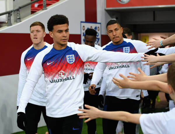 Dele Alli was born to a Nigerian father and has become an integral part of the Tottenham and England set up at just 22-years-old.