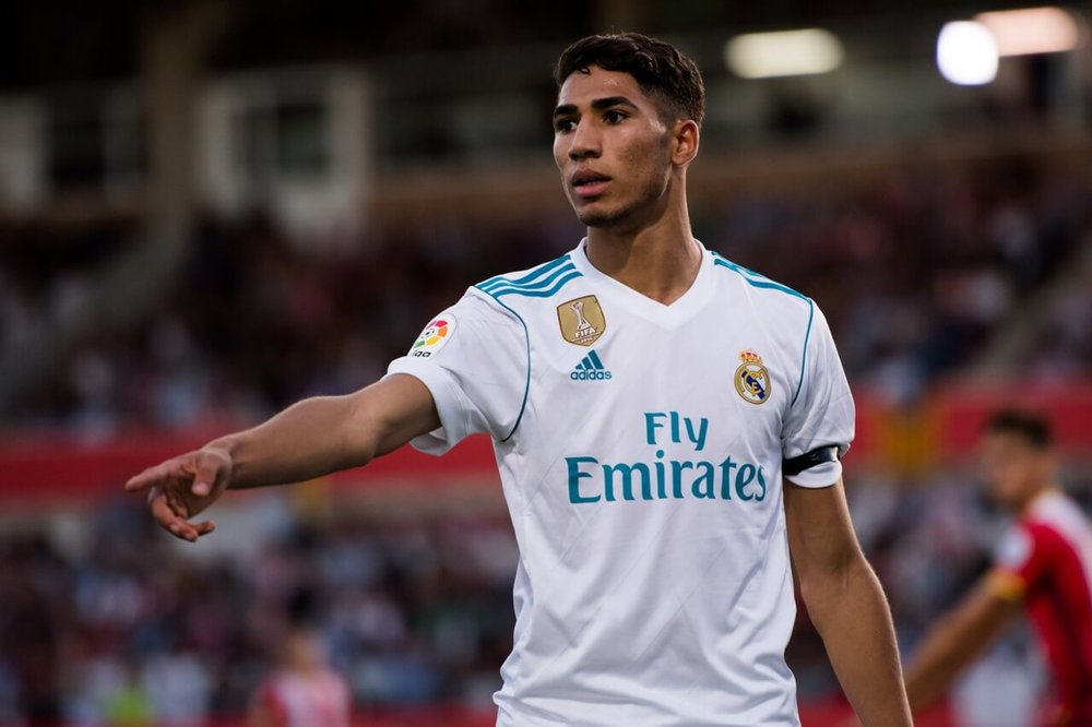 Achraf Hakimi is a young talent at Real Madrid FC and will represent Morocco this summer at the World Cup 2018 in Russia.