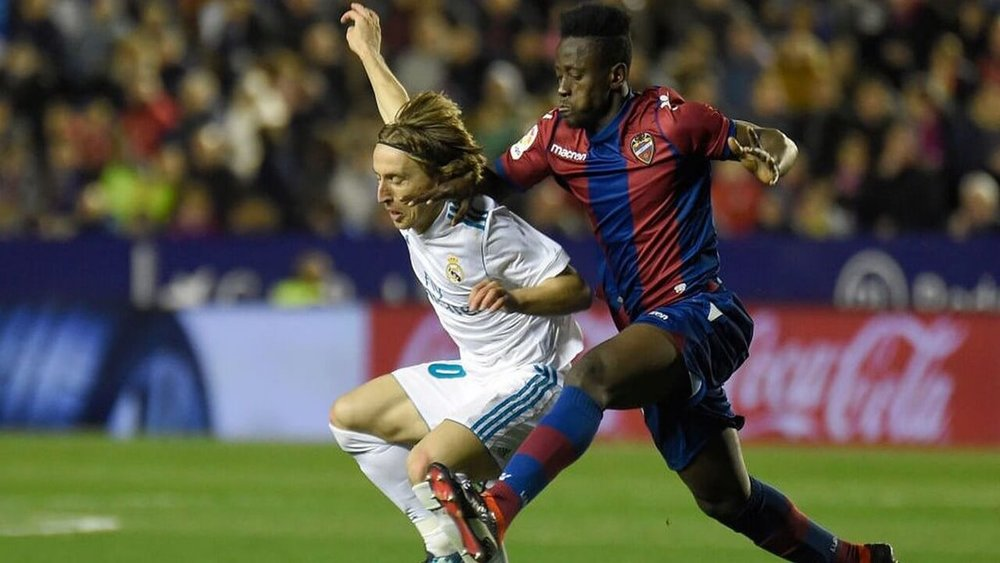 Emmanuel Boateng of Levante FC is a young, talented, Ghanaian striker that is making a name for himself in La Liga after a standout performance against Barcelona FC.