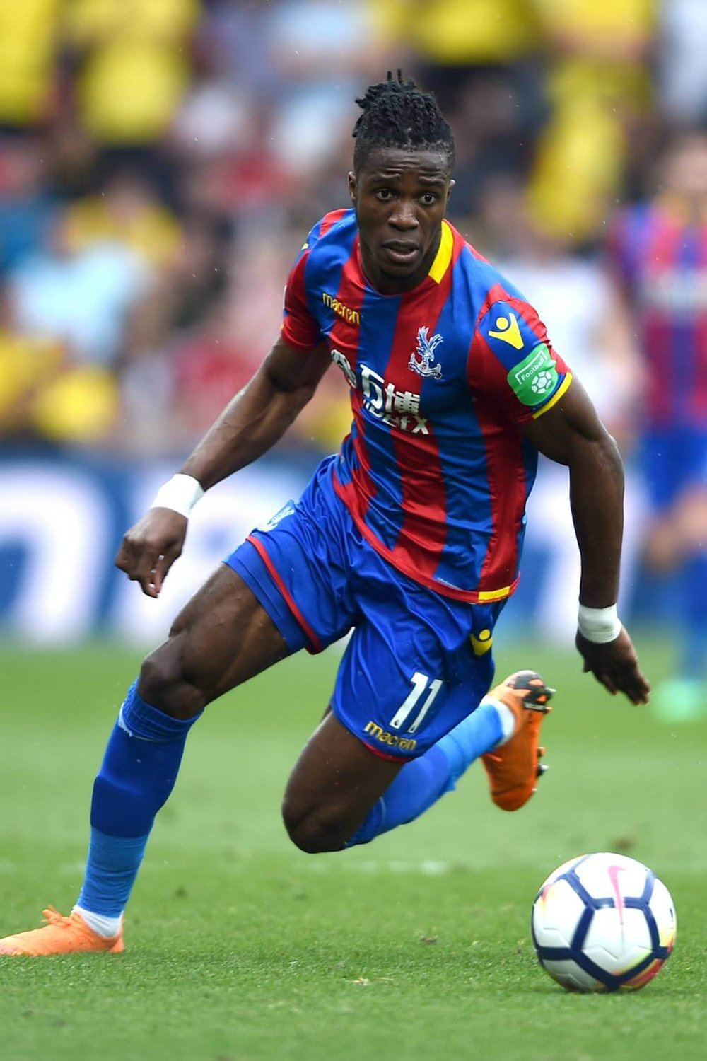 Wilfred Zaha is a player that likes to make a statement on the pitch with his dynamic style of play, as well as making a statement off the pitch with his fashion line.