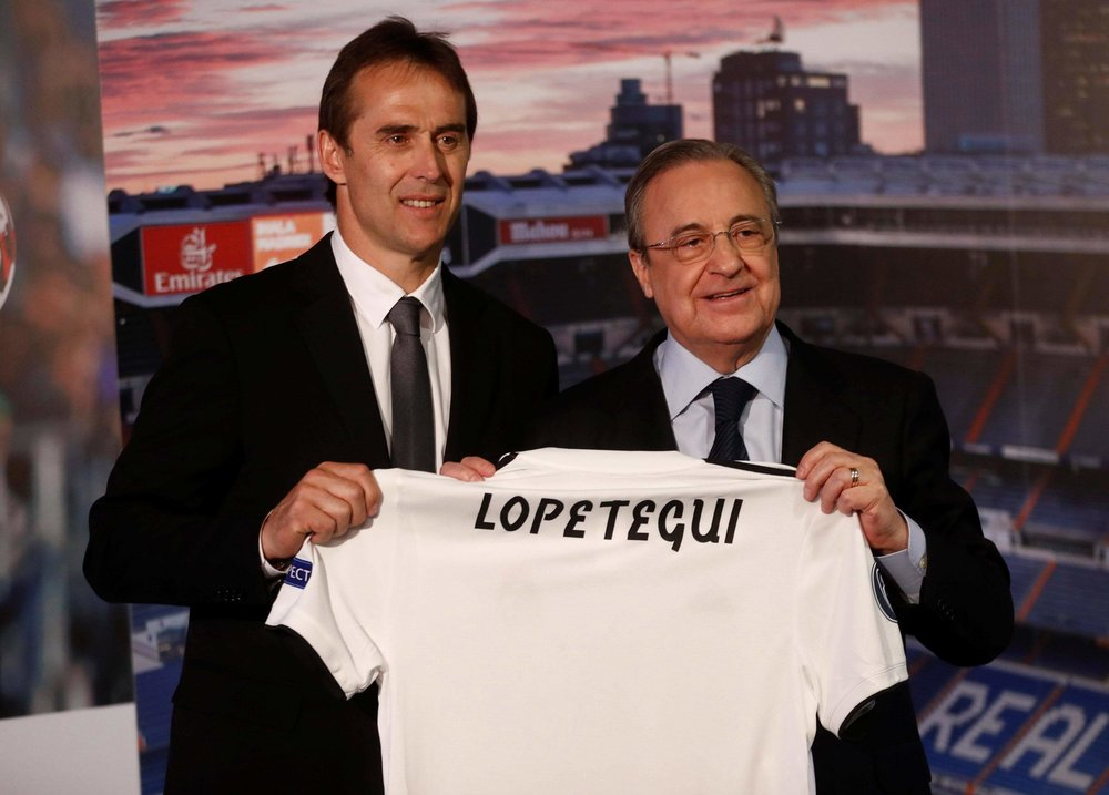 Lopetegui sacked by Spanish Federation after taking Real Madrid job days before Spain's first World Cup 2018 match against Portugal.
