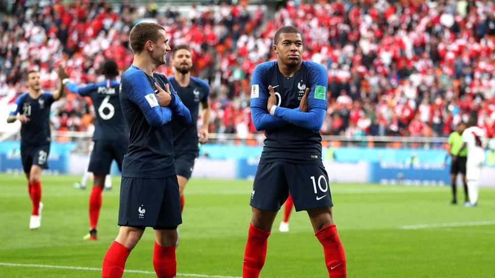 Kylian Mbappe and Antoine Griezmann will look to unlock Argentina's defense in hopes of progressing past the Round of 16 at the World Cup 2018.