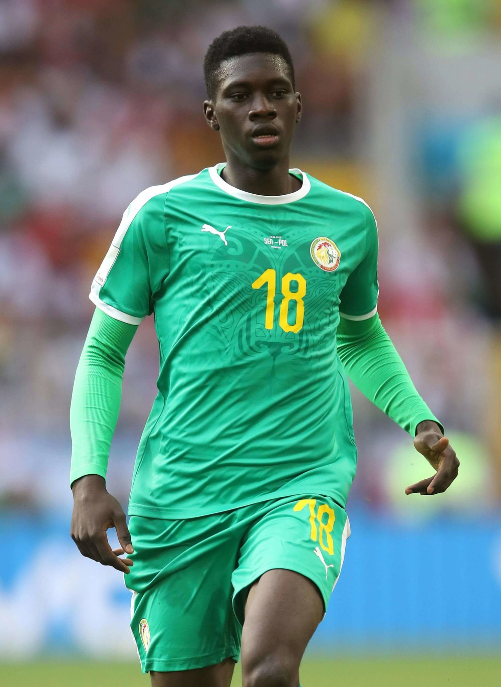 Ismalia Sarr of Senegal is being courted by Manchester United, Chelsea, and other top clubs after a good performance at the World Cup 2018.