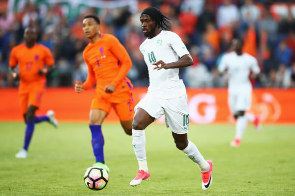 Gervinho of the Ivory Coast in action during the International Friendly match between the Netherlands and Ivory Coast held at De Kuip or Stadion Feijenoord on June 4, 2017 in Rotterdam, Netherlands.  (June 3, 2017 - Source: Dean Mouhtaropoulos/Getty Images Europe)
