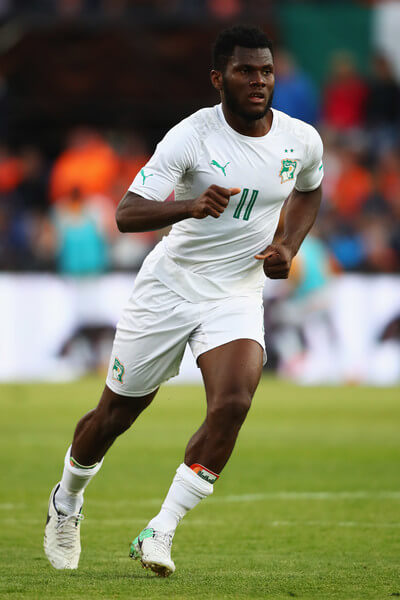 Franck Kessie of the Ivory Coast in action during the International Friendly match between the Netherlands and Ivory Coast held at De Kuip or Stadion Feijenoord on June 4, 2017 in Rotterdam, Netherlands.  (June 3, 2017 - Source: Dean Mouhtaropoulos/Getty Images Europe)