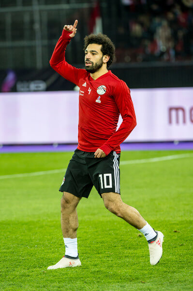 Mohamed Salah of Egypt warms up before the International Friendly between Portugal and Egypt at the Letzigrund Stadium on March 23, 2018 in Zurich, Switzerland.  (March 22, 2018 - Source: Robert Hradil/Getty Images Europe)